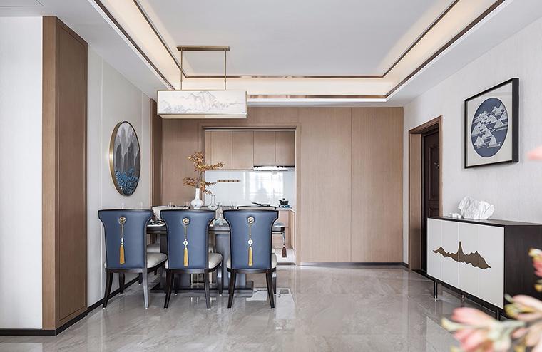 振宁新秀公寓旧房改造新中式案例