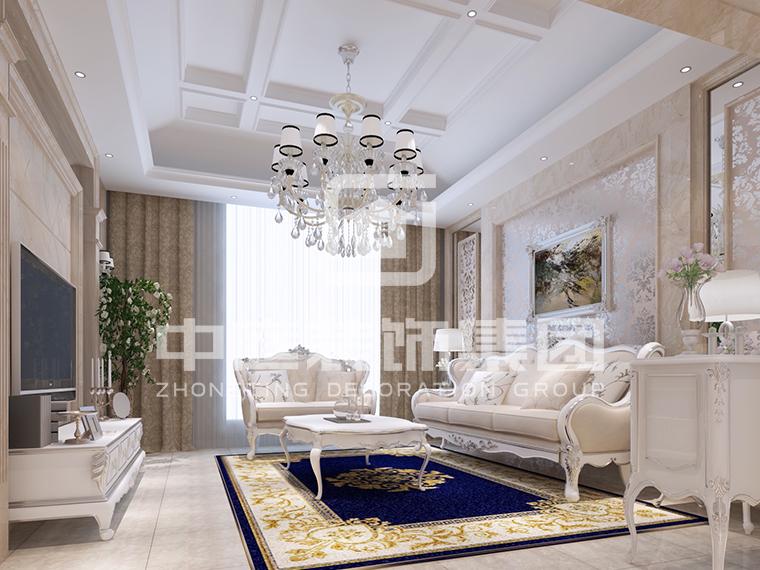 天誉城120平欧式风格案例