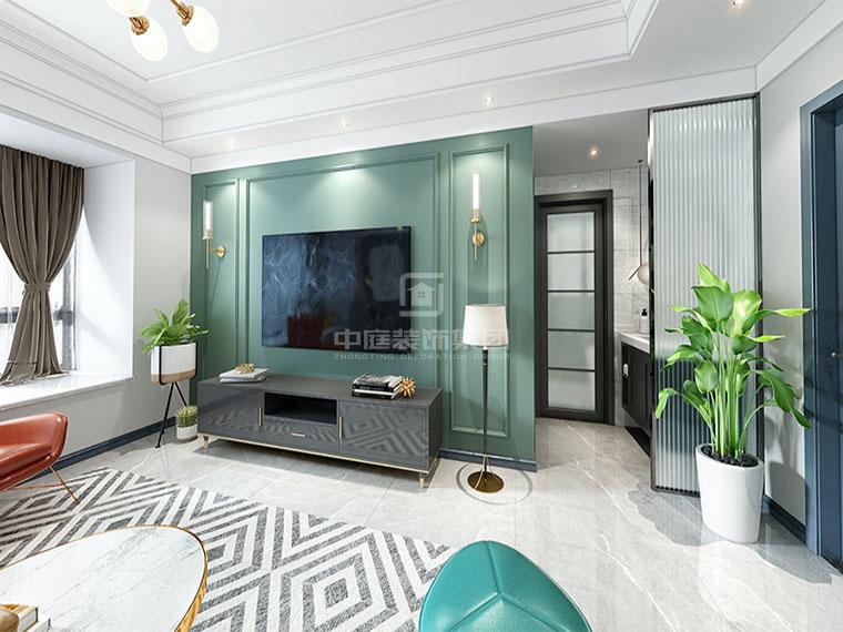 天誉城120㎡现代三居室风格案例