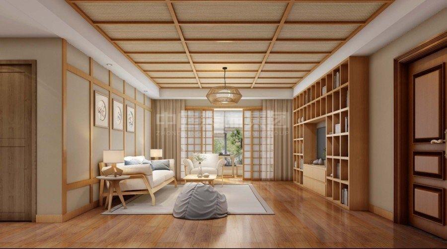 大唐世家105㎡日式风格案例