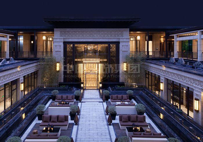 中海央墅600㎡新中式风格案例