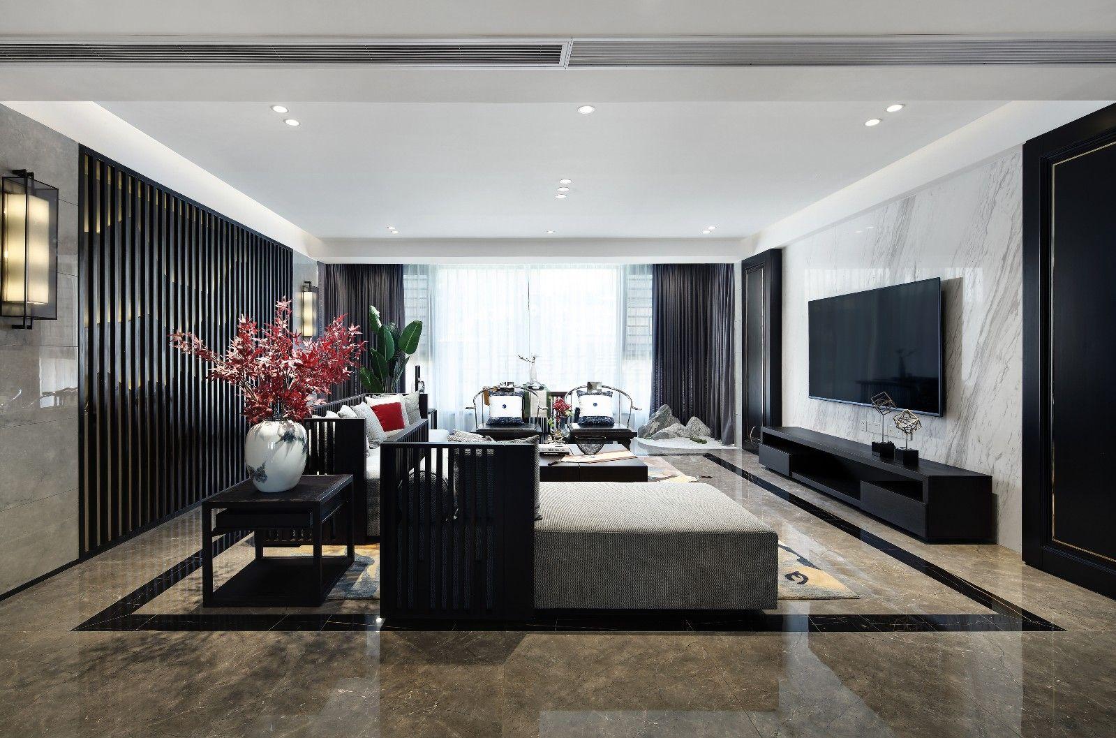龙光玖誉城145㎡新中式风格案例