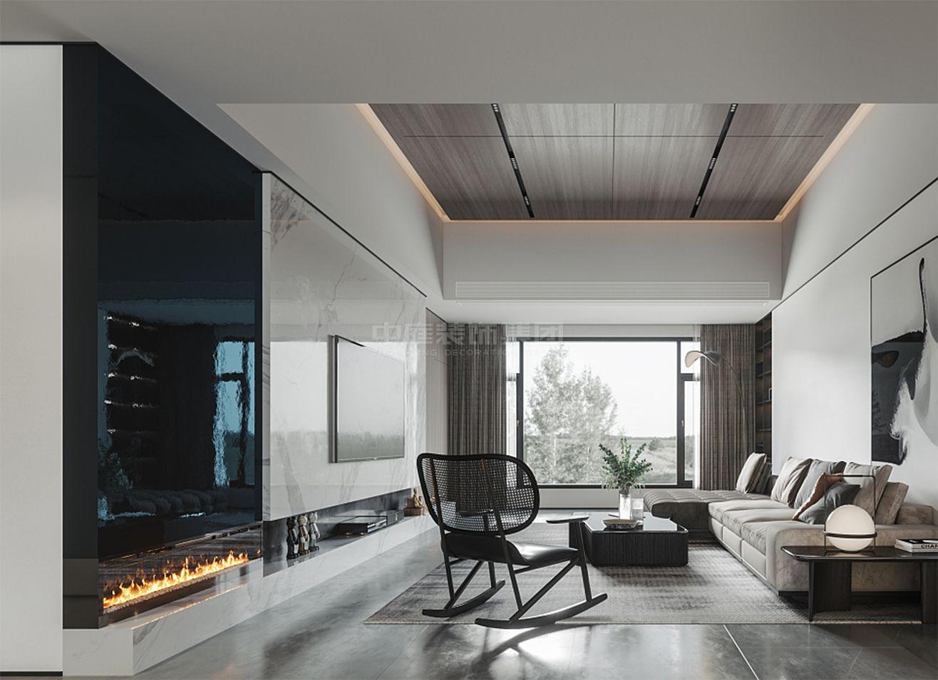 天池山·中脊120㎡现代风格案例