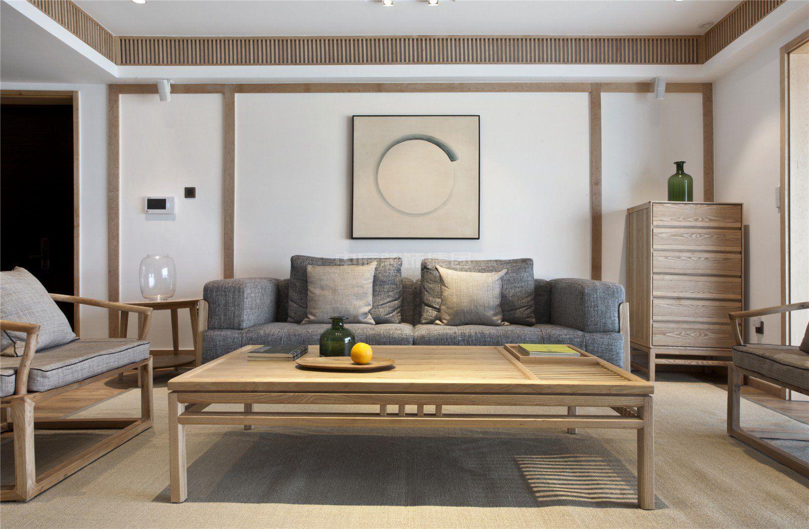 传媒星城115㎡日式风格案例