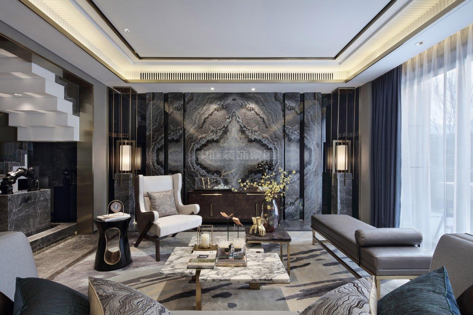 五象茗城130㎡混搭风格案例